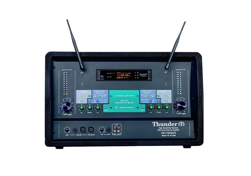 گیرنده و فرستنده صوتی تندر 2200