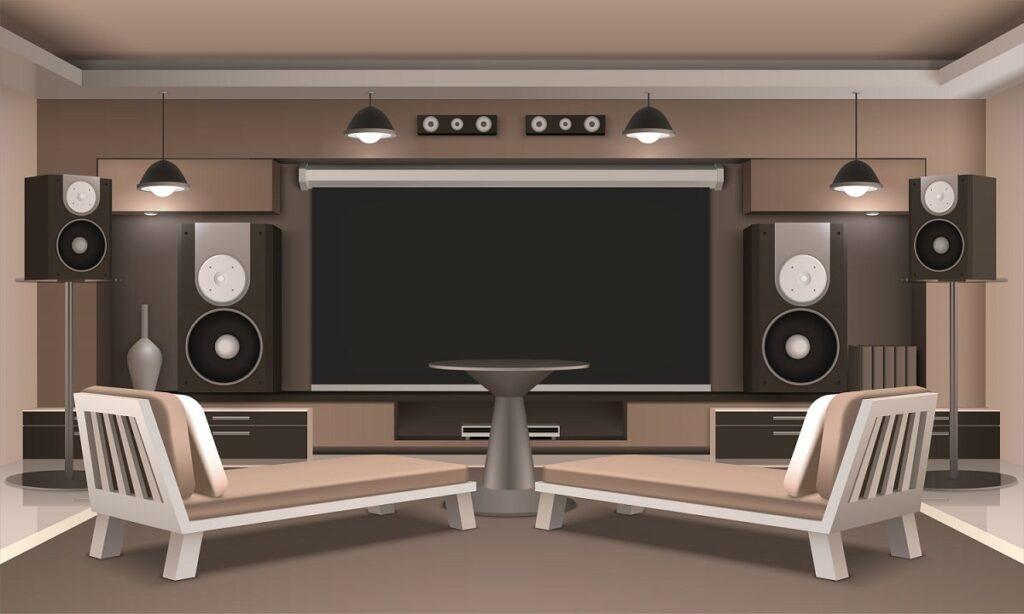 سیستم صوت خانگی