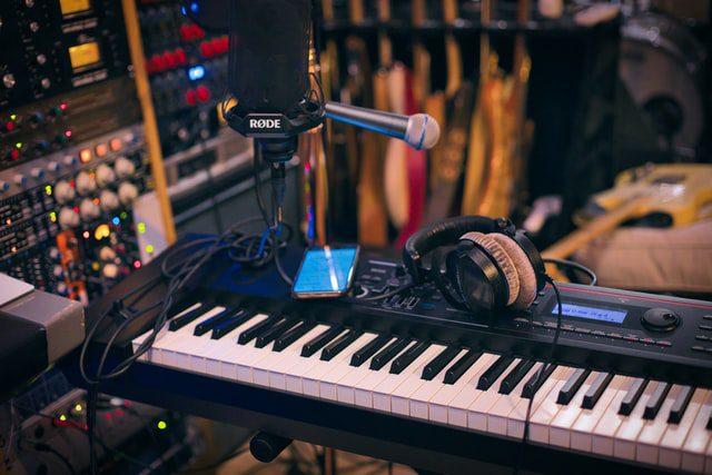 ارگ در استودیو