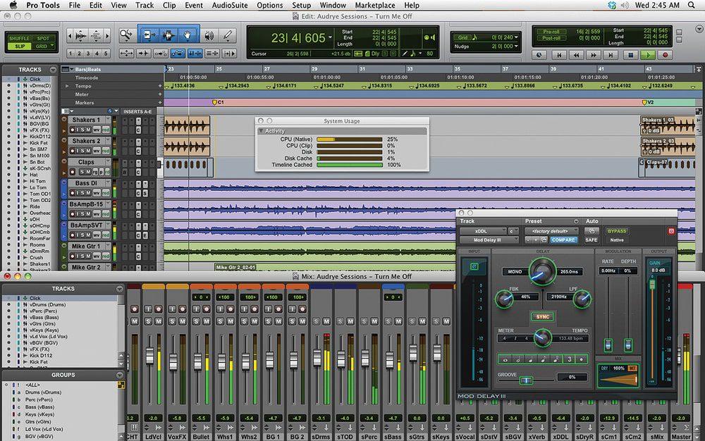 نرم افزار آهنگسازی Avid pro Tool | First