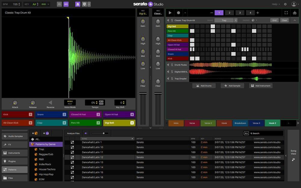 نرم افزار آهنگسازی رایگان Serato studio